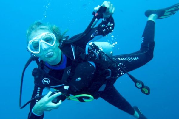 Fun mit Member Diving