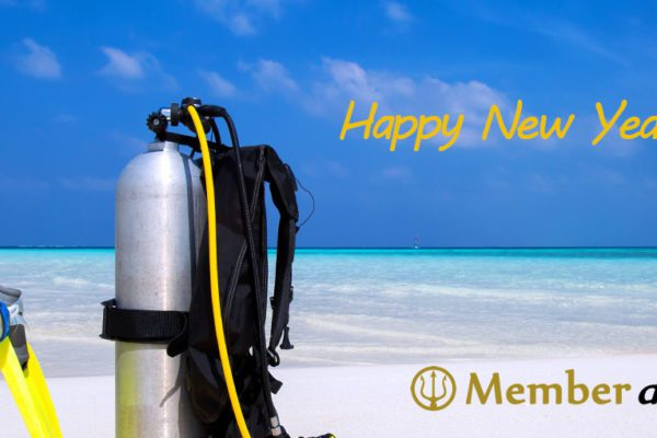 Member diving - Happy New Year 2017
