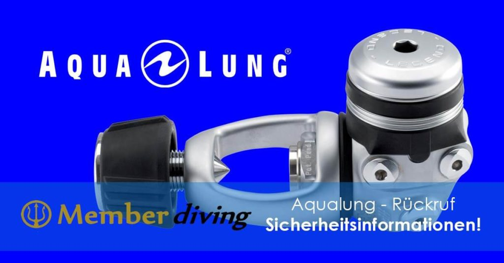 Sicherheitsinformation Aqualung