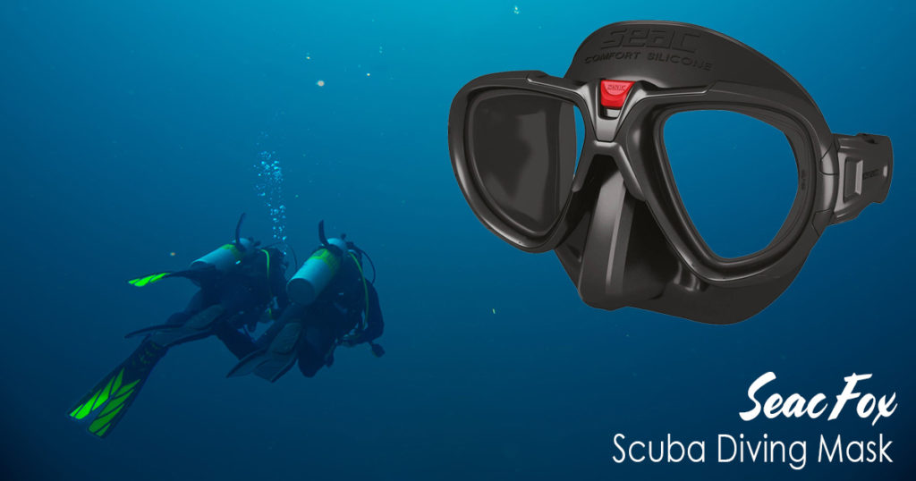 Seac Fox Scuba Diving Mask